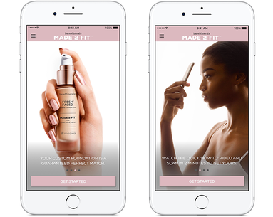 bareMinerals' New App Custom Blends Your Perfect Foundation Shade