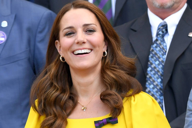 Kate Middleton Shows Off New Haircut After Maternity Leave