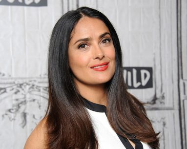 Salma Hayek Uses a 'Natural Facelift' Massage to Change Her Jawline