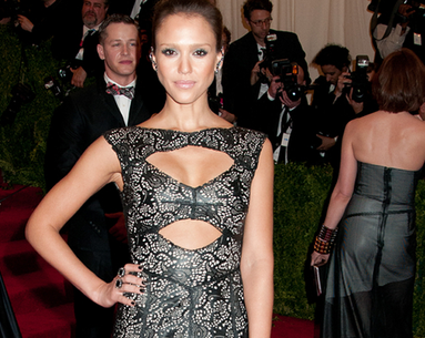 Jessica Alba's Post-Pregnancy Secret