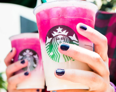 The Starbucks Ombré Pink Drink Has Officially Been Added to the Menu