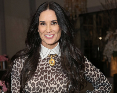 Demi Moore Proves She's Ageless; Even the 'Old Lady' Face Mask Doesn't Phase Her