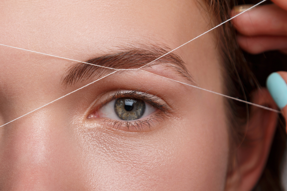 The Eyebrow Threading Video That Is Satisfying To Watch Spa