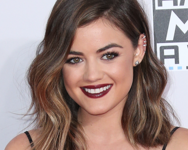 "Lucy Hale's ""Fall Blended"" Is the Ultimate Cold-Weather Hair Color"