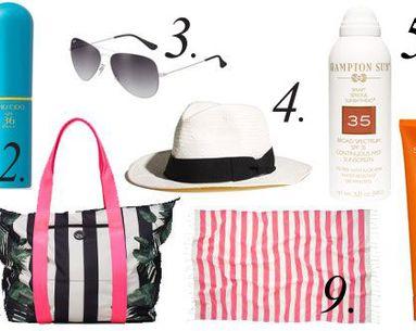 Beauty Essentials: 9 Beach Bag Must-Haves