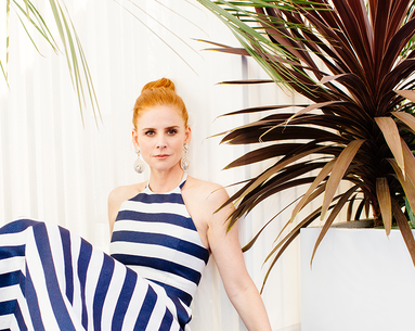 Sarah Rafferty Shares the Genius Skin Care Tip She Learned on the Set of 'Suits'