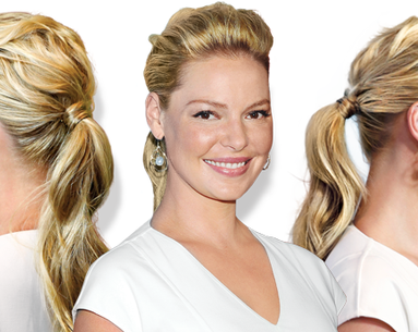 Get The Look: Katherine Heigl's Voluminous Ponytail