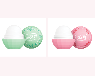 Secret Deodorant Is Launching Mini, On-the-Go 'Freshies'