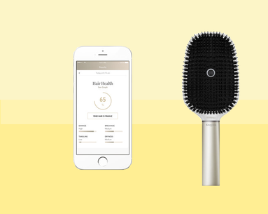 A New Futuristic Brush Will Measure How Healthy Your Hair Is