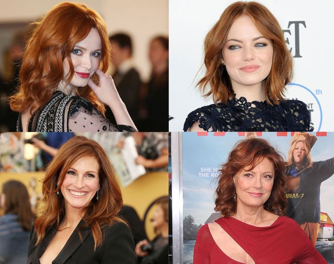 Sexy At Every Age The Hottest Celebrity Redheads