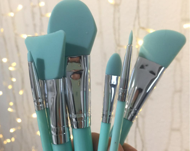 These Silicone Makeup Brushes Make Your Silicone Sponge Seem So Last Year