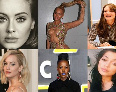 12 Pop-Culture Looks That Changed Beauty in 2015