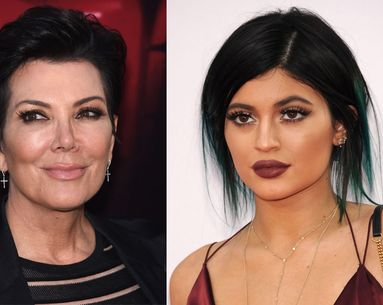 Is Kris Jenner Telling the Truth About Kylie's Lips?