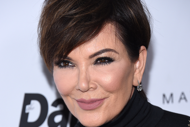 Kris jenner hair color in kitchen hair color hair you wont believe the bizarre way in which celebrities are dying their hair urmus Gallery