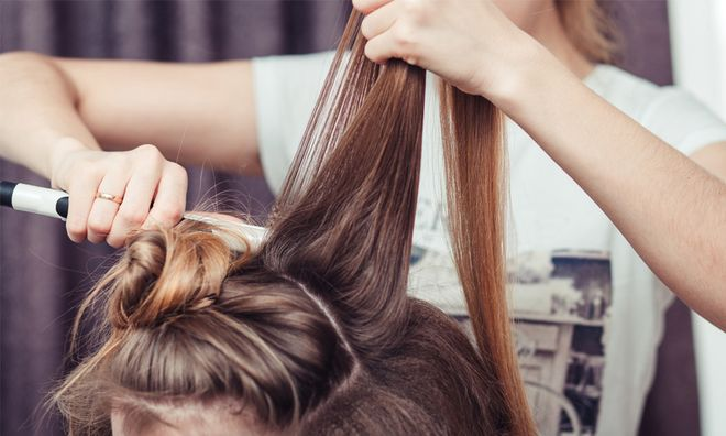 how to get rid of frizzy hair after a shower