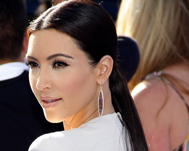 Kim Kardashian Is Suffering From Psoriasis on Her Face