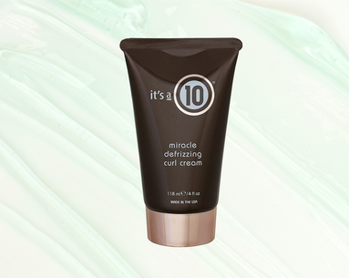 This Defining Curl Cream Cuts Out the Crunch Factor
